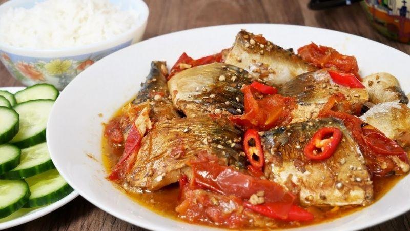 Cách làm cá nục kho cà chua