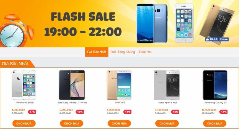 Loạt smartphone hàng hiệu đang được giảm giá cực hấp dẫn tại VuiVui.com (HCM) - ảnh 1