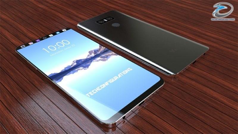 Concept: LG V30 màn hình phụ cực độc, chống nước IP68, RAM 6GB, Snapdragon 835, camera kép - ảnh 1