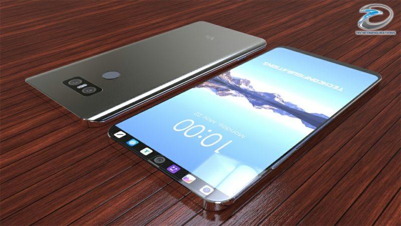 Concept: LG V30 màn hình phụ cực độc, chống nước IP68, RAM 6GB, Snapdragon 835, camera kép - ảnh 3