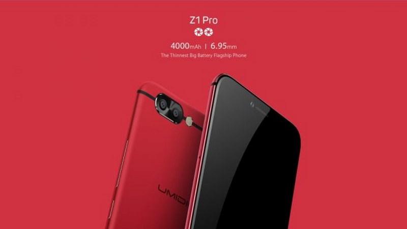 BUMIDIGI Z1, Z1 Pro ra mắt: Thiết kế đẹp như iPhone 7 Plus, RAM 6GB, camera kép, pin 4.000 mAh, giá từ 6 triệu - ảnh 1