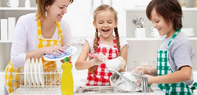 Dùng nước rửa chén có hại không?