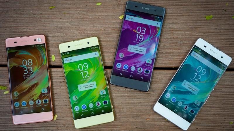 Loạt smartphone Sony tại Việt Nam đang chạy Android Nougat