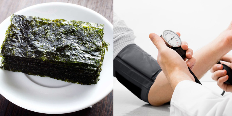 Ăn rong biển giúp làm giảm huyết áp