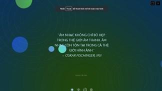 Hòa âm phối khí trên Doodle của Google để kỷ niệm sinh nhật thứ 117 của Oskar Fischinger
