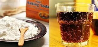 Baking soda trong nước ngọt có ảnh hưởng tới sức khoẻ?
