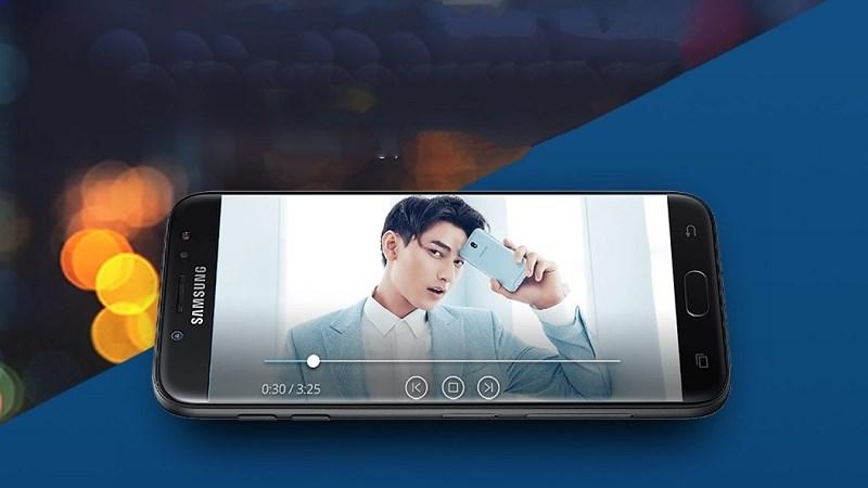 Galaxy J7 Pro có màn hình lớn như dòng Galaxy Note (Note 5, Note 7)