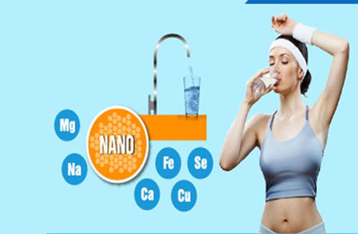 Có thể uống trực tiếp nước từ máy lọc Nano khi nguồn nước cấp đã được đảm bảo
