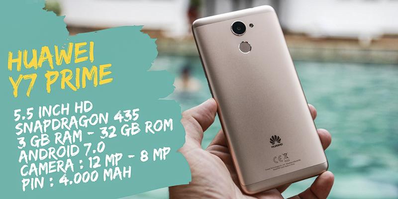 Trên tay Huawei Y7 Prime
