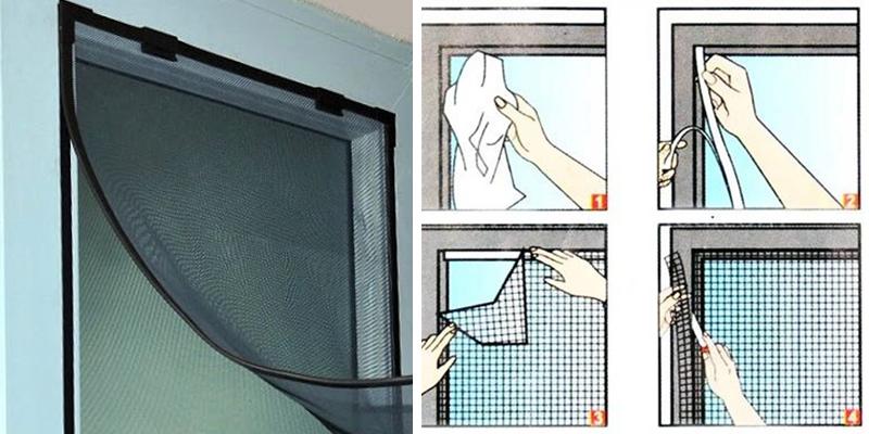 Cách tự làm cửa lưới chống muỗi tại nhà