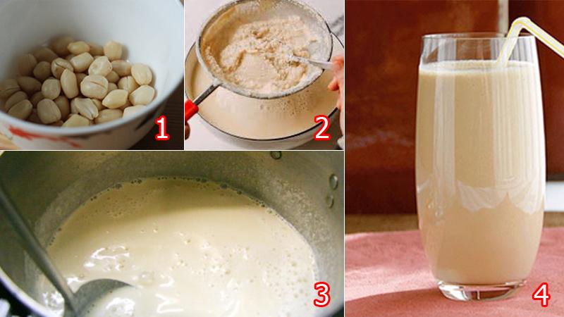 Cho bé uống sữa đậu phộng có tác dụng gì?