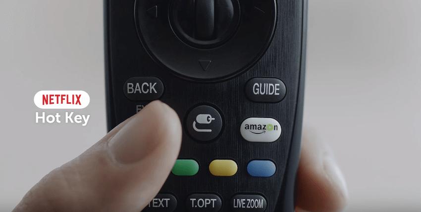 Nút tắt trên remote