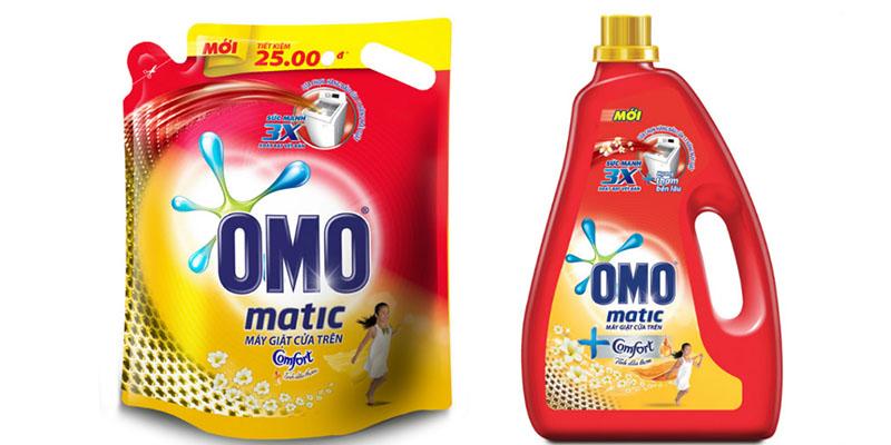 Nước giặt Omo Matic Comfort Tinh dầu thơm