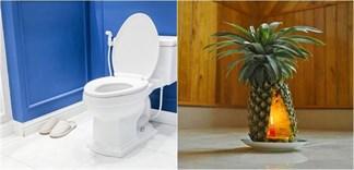 Cách khử mùi toilet bằng trái thơm