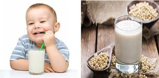 Cho bé uống sữa đậu nành mang lại lợi ích gì?