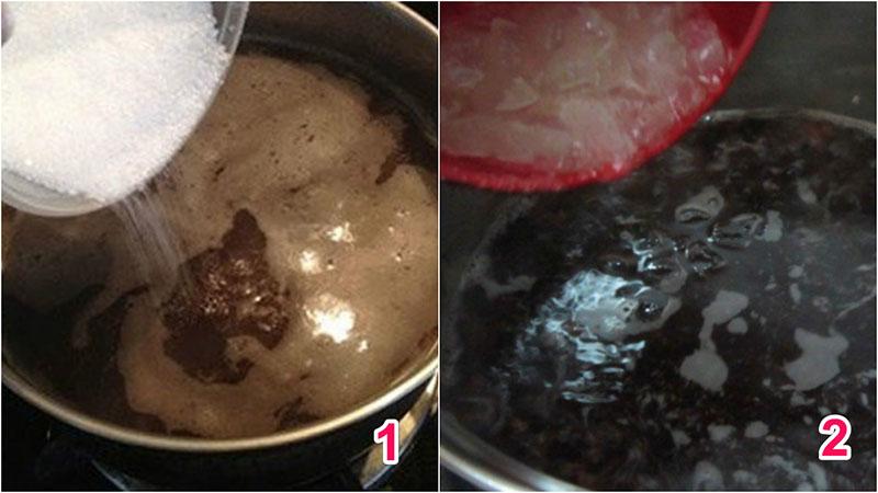 Cách nấu chè nha đam đậu đen giải nhiệt ngày hè