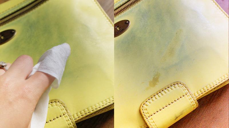 Cách tẩy vết mực trên đồ da đơn giản ở nhà