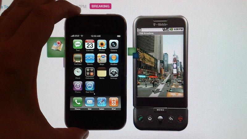 iPhone & điện thoại Android có cùng điểm xuất phát