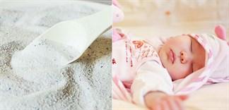 Cách chọn bột giặt cho trẻ sơ sinh