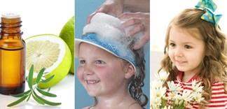 Giúp tóc bé mọc dày, nhanh và mềm mượt nhờ dầu gội bưởi