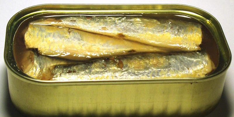 Thành phần dinh dưỡng trong cá mòi đóng hộp