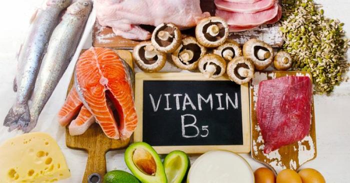 Thực phẩm bổ sung vitamin B5