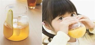 Nước ép lê có tác dụng gì với trẻ nhỏ?