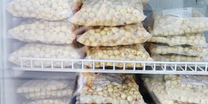 Nhận biết hạt sen Huế với các loại hạt sen khác