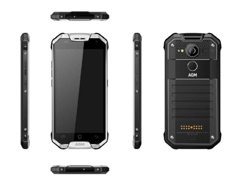 Xuất hiện smartphone siêu bền chống nước với pin 10.000 mAh, RAM 8GB, ROM 256GB Agm-x2_777x607