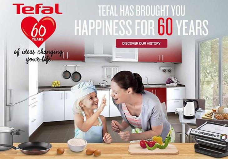 Về thương hiệu Tefal