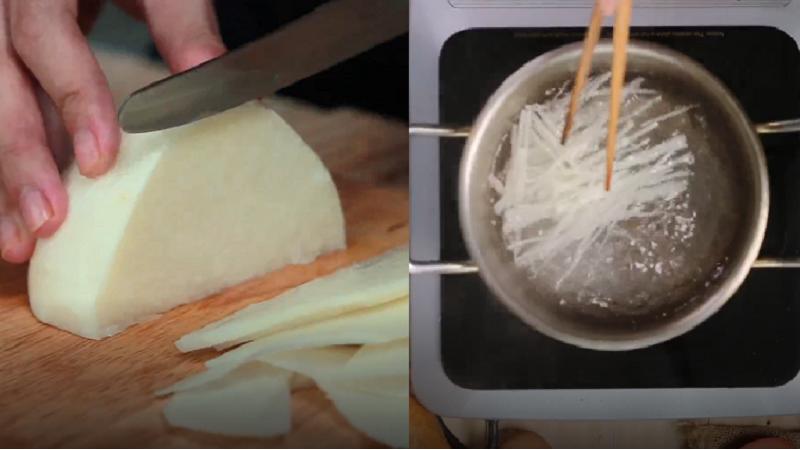 Cách làm xíu mại ăn bánh mì