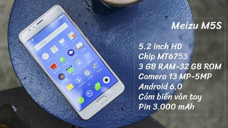 Trên tay Meizu M5S