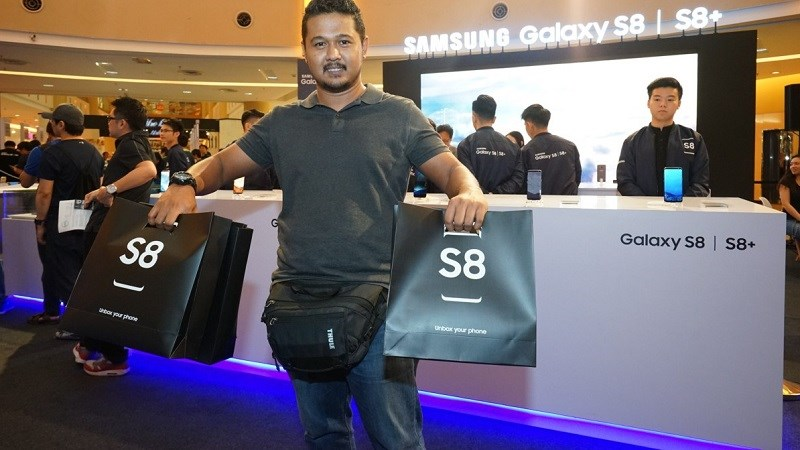 Samsung đạt lợi nhuận cao kỷ lục trong quý 2/2017, nhờ công không nhỏ từ Galaxy S8