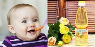 Dầu ăn – Bổ sung cho bé bao nhiêu là đủ?
