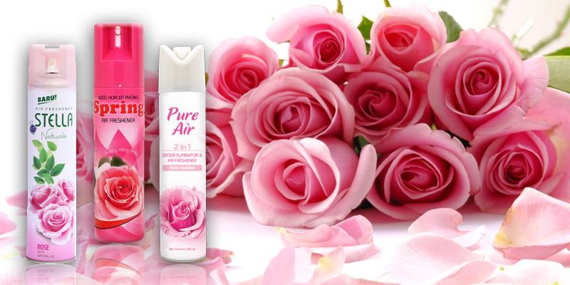Nước hoa xịt phòng - các loại nước hoa thơm lâu nhất?