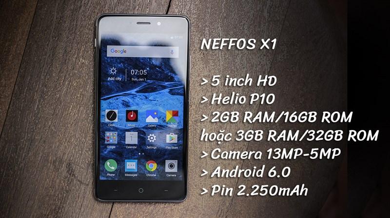 Trên tay Neffos X1