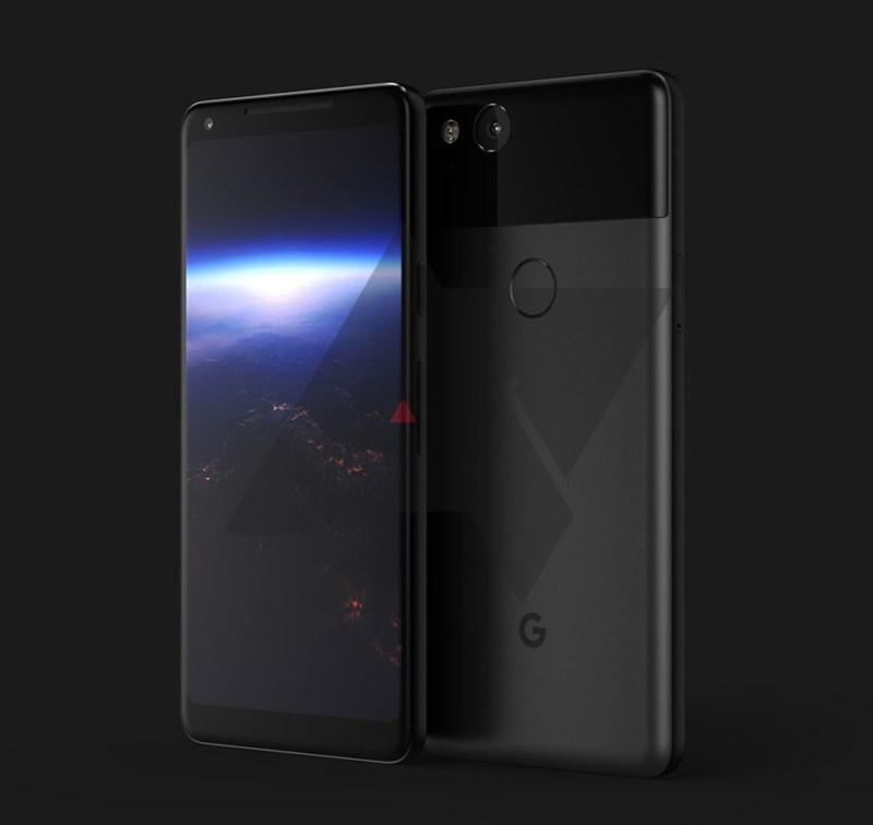 Google Pixel XL 2 xuất hiện cực đẹp với màn hình AMOLED tỷ lệ 2:1