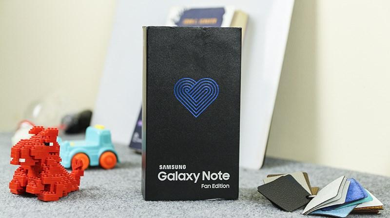 Trên tay Galaxy Note 7 FE
