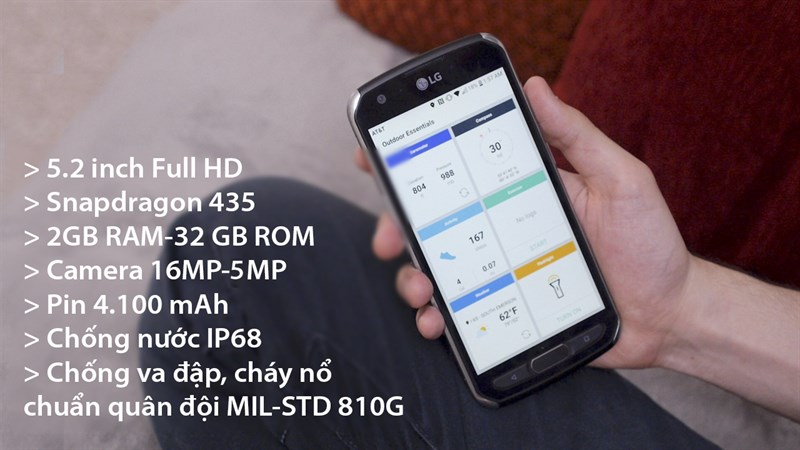 Trên tay LG X Venture