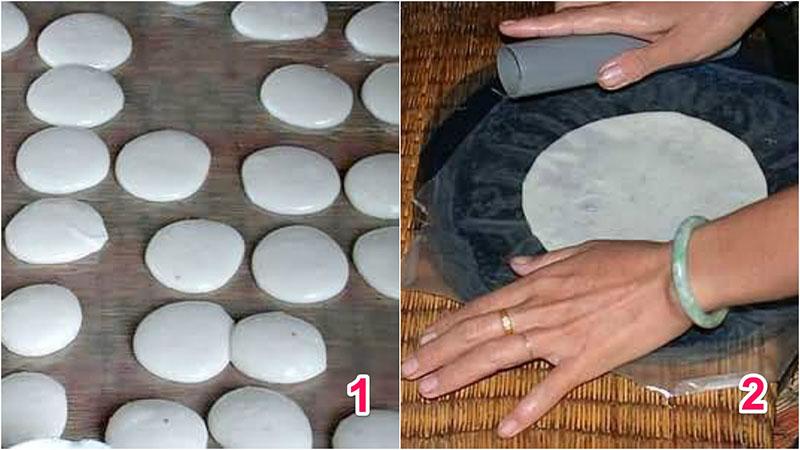 Cách làm bánh phồng nếp mang đậm hương vị miền quê