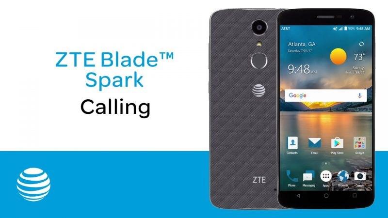ZTE Blade Spark: Snapdragon 425, vân tay, pin 3.140 mAh, Android 7.0 Nougat giá 2.3 triệu