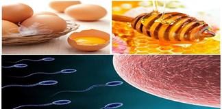 """Trứng gà đánh mật ong – """"thần dược"""" chữa tinh trùng yếu"""