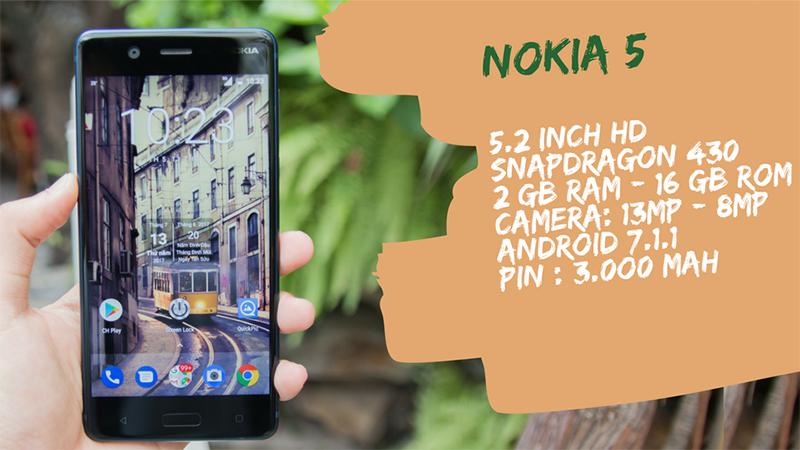 Trên tay Nokia 5