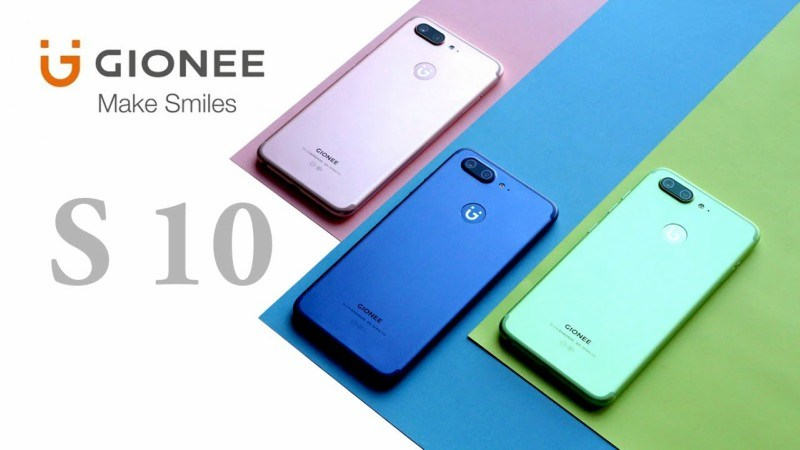 Gionee chính thức bán ra 2 phiên bản màu sắc trẻ trung năng động của Gionee S10 - ảnh 1