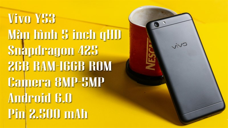 Trên tay Vivo Y53