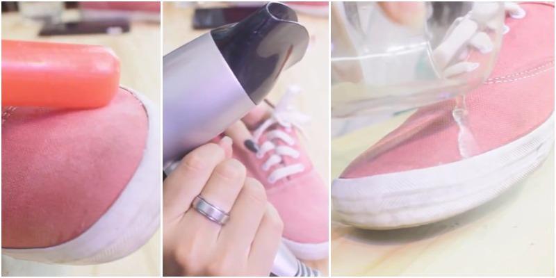heramo.com - Xịt nano giày chống thấm nước bấm bẩn