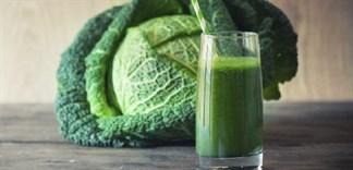 Uống nước ép bắp cải giảm cân, đúng hay sai?