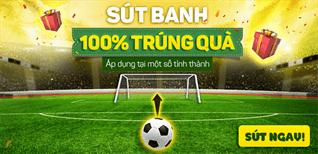 Sút banh 100% trúng quà khi mua Tivi online đón Seagame 29