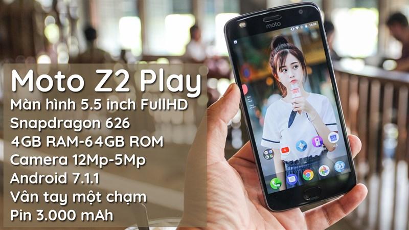 Trên tay Moto Z2 Play