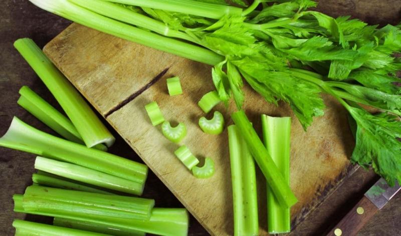 Thành phần dinh dưỡng của cần tây